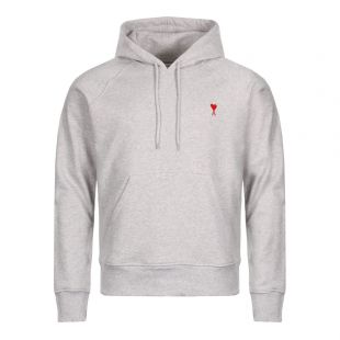 Ami de Coeur Hoodie in Grey Heather E18J008 730 055