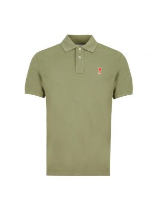 AMI Polo Shirt | E20HJ207760317 Green