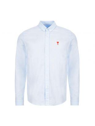 AMI Shirt Oxford    E20HC013 45 454 Blue