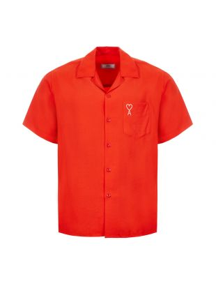 Ami Short Sleeve Shirt | E20HC200 422 600 Red
