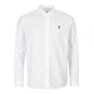 ami shirt A19C013 45 100 white