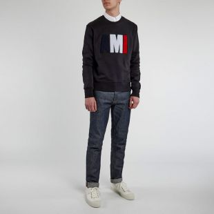 Sweatshirt Tricolour - Black