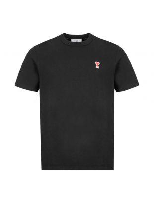 AMI T-Shirt Logo    E20HJ108 720 001 Black