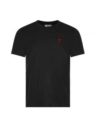 Ami T-Shirt Logo   H20HJ108 723 001 Black