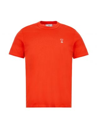 AMI T-Shirt Logo   E20HJ108 720 600 Red