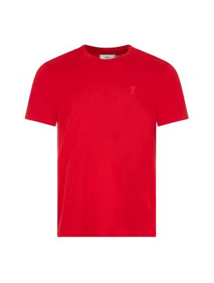 Ami T-Shirt | H20HJ108 723 600 Red