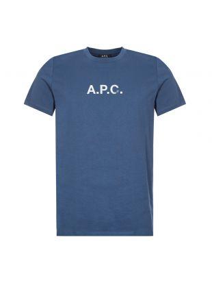 APC T-Shirt | Blue COEDA H26867 IAA | Aphrodite