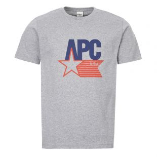 apc t-shirt usa COEDU H26870 PLA grey