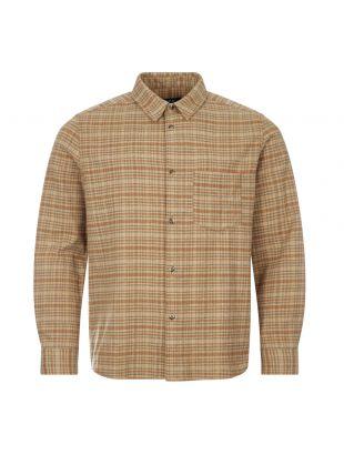 Check Shirt - Beige