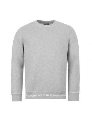 APC Sweatshirt | CIECP H27568 PLA Grey