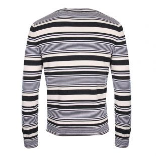 Jumper - Navy/Marine Stripe