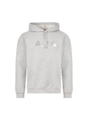 APC Carhartt WIP Hoodie | Grey COCECO H27598