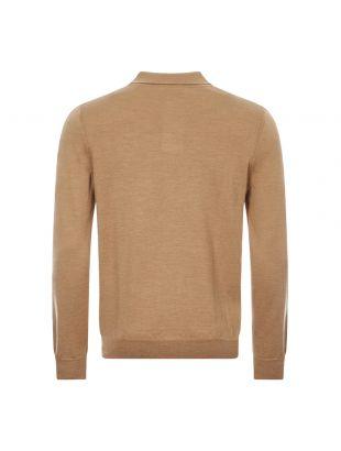 Long Sleeve Polo Shirt Jerry - Beige