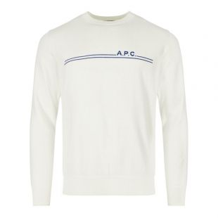 APC Sweater CODDA H23866 AAD In Ecru