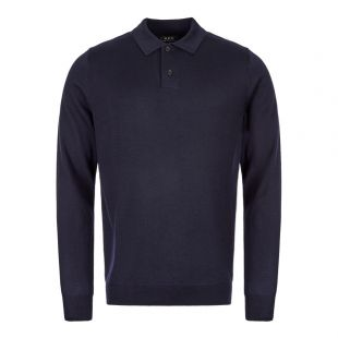 APC Knitted Polo WVAWM H23593 IAK Navy