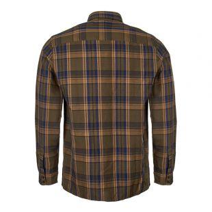 Shirt Achille - Khaki / Blue