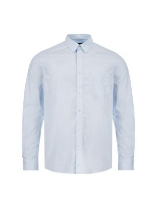 APC Shirt | COECI H12386 IAB Blue / White