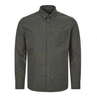 apc shirt COECC H02396 green check