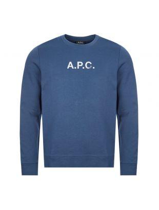 APC Sweatshirt | COECQ H27580 IAA Blue