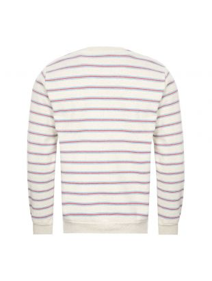 Sweatshirt - Ecru / Stripe