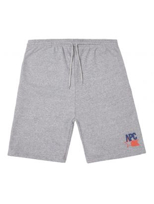 apc sweat shorts usa COEDV H10130 PLA grey