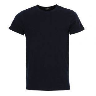 apc t shirt jimmy COBQX-H26504 navy