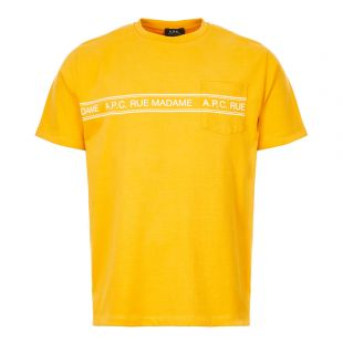 APC T-Shirt Rue Madame CODEL H26832 DAA Yellow