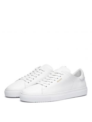 Clean 90 Trainers  - White Leather