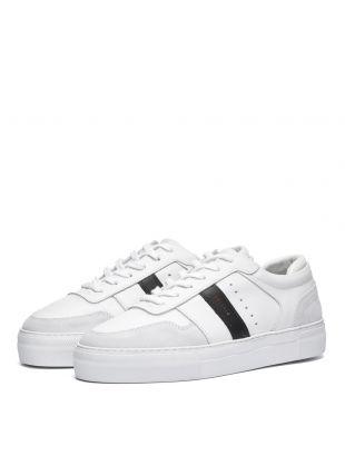 Platform Sneaker - White / Black