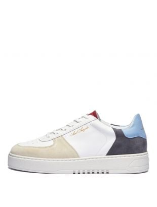 Axel Arigato Orbit Sneakers , 24001 White / Blue / Red , Aphrodite 1994