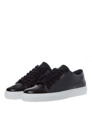 Cap Toe Sneaker - Black