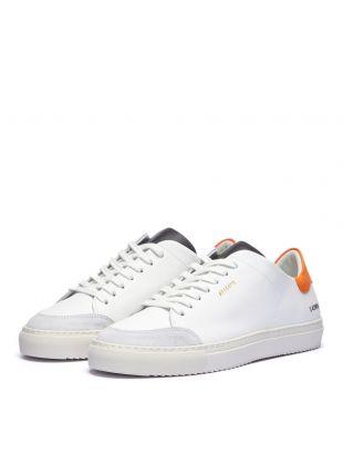 Clean 90 Sneakers – White / Green / Orange