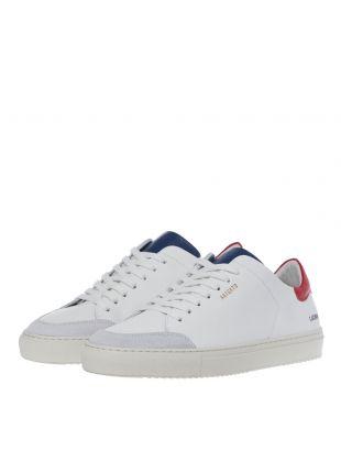 Clean 90 Triple - White / Blue / Red