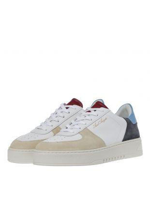 Orbit Sneaker - White / Blue / Red