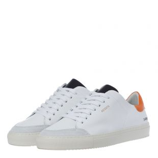 Clean 90 Sneakers – White / Green / Orange