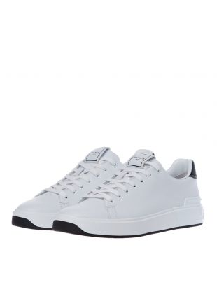 B Court Trainers - White