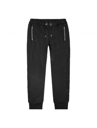 balmain sweatpants TH1563211240 0PA black