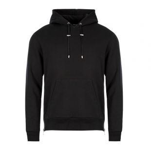 Balmain Hoodie   SH036421214 0PA Black Logo
