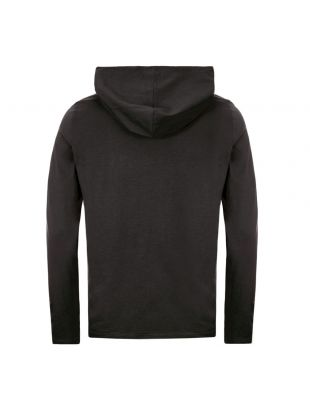 Hooded Long Sleeve T-Shirt - Black