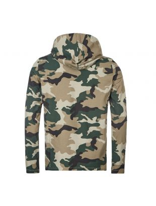 Hooded Long Sleeve T-Shirt - Camo