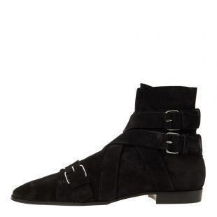 Balmain Boots Jack Ankle RM1C001LCWE 0PA Black Suede