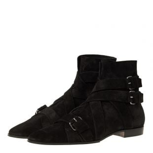 Boots Jack Ankle - Black Suede
