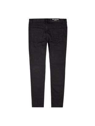 Jeans Slim Embossed - Black