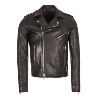 Balmain Leather Jacket RH18895L030 0PA Black
