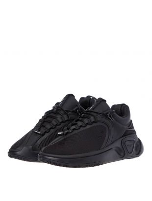 Low Top Trainers - Black