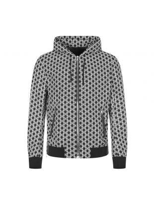 Jacket Monogram - Black / White