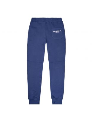 Joggers Ribbed - Navy / White