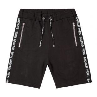 Balmain Shorts | SH15659J928 OPA Black Tape | Aphrodite