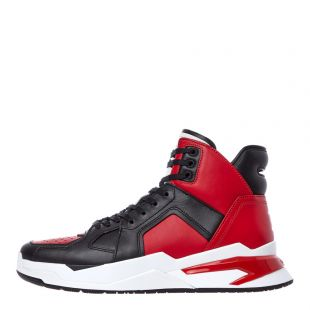 Balmain Trainers B-Ball SM0C173L015 MAB Red / Black
