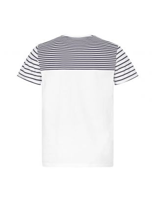 T-Shirt Stripe - White/Navy
